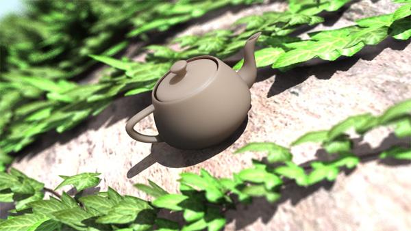 The rare Utah teapot in its natural habitat.